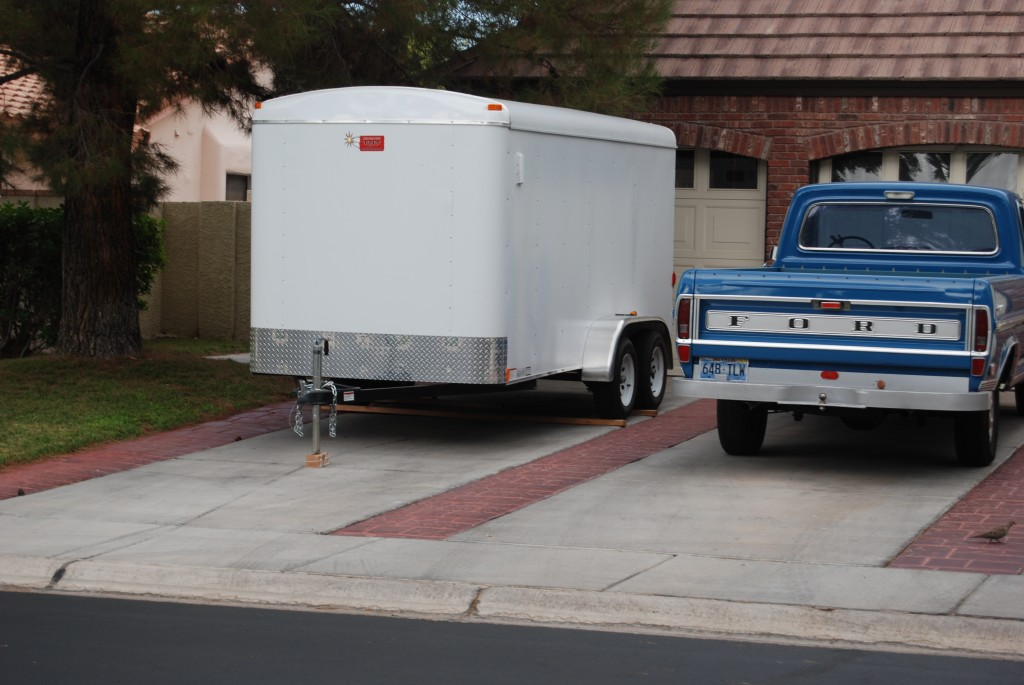 "Chatwin Residence with illegal trailer parked overnite over 2 years after Chatwin and Gertner signed ""new Enforcement Policy"" for ""PARKING RVs, BOATS, TRAILERS, COMMERCIAL VEHICLES, ON/IN FULL VIEW OF THE STREET"" SELECTIVE ENFORCEMENT!!!"